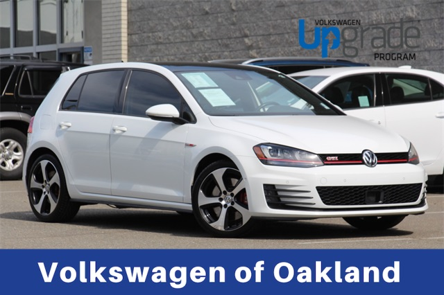 Certified Pre Owned 2016 Volkswagen Golf Gti Autobahn