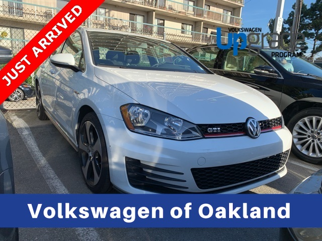 Certified Pre Owned 2016 Volkswagen Golf Gti S