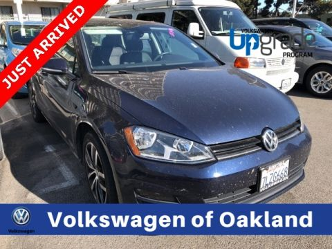 Certified Pre-Owned 2015 Volkswagen Golf TSI SE 4-Door