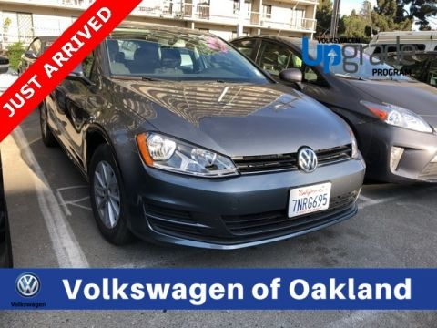 Certified Pre-Owned 2016 Volkswagen Golf TSI S 4-Door