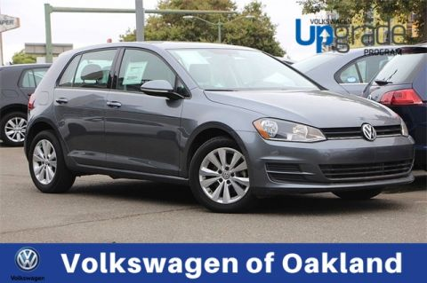 Certified Pre-Owned 2015 Volkswagen Golf TDI S 4-Door