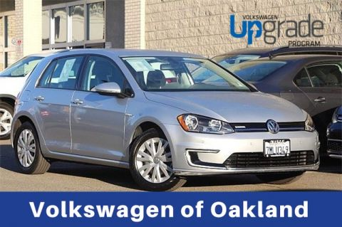 Certified Pre-Owned 2015 Volkswagen e-Golf Limited Edition